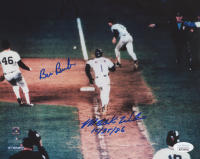 "Bill Buckner & Mookie Wilson Signed 8x10 Photo Inscribed ""10/25/86"" (JSA Hologram) at PristineAuction.com"