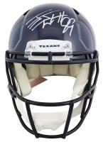 J. J. Watt Signed Texans Speed Authentic On-Field Full-Size Helmet (JSA COA & Watt Hologram) at PristineAuction.com