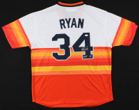 "Nolan Ryan Signed Astros Jersey Inscribed ""H.O.F. 99"" (PSA COA) at PristineAuction.com"