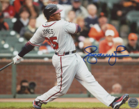 Andruw Jones Signed Braves 8x10 Photo (Real Deal COA) at PristineAuction.com