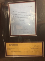 "Ann Rutherford, Clark Gable & Vivian Leigh Signed ""Gone With The Wind"" 18x24 Custom Framed Documents (PSA LOA) at PristineAuction.com"
