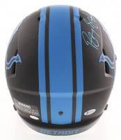 Barry Sanders Signed Lions Full-Size Eclipse Alternate Speed Helmet (Beckett COA & Schwartz COA) at PristineAuction.com