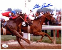 Steve Cauthen Signed 8x10 Photo (JSA COA) at PristineAuction.com