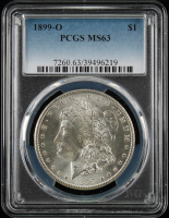 1899-O $1 Morgan Silver Dollar (PCGS MS63) at PristineAuction.com