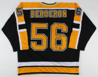 "Patrice Bergeron Signed Jersey Inscribed ""FIRST NHL GOAL 10/18/03"" (YSMS Hologram & Bergeron COA) at PristineAuction.com"