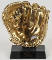 Nolan Ryan Signed Mini Golden Glove With Rawlings Platform Base (PSA COA) at PristineAuction.com