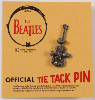 """Vintage """"The Beatles"""" Tie Tack Pin with Original NEMS Selling Card at PristineAuction.com"""