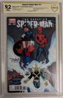"""Tim Sale Signed 2014 """"Superior Spider-Man"""" Issue #31 Marvel Comic Book (CBCS 9.2) at PristineAuction.com"""