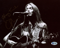 "Emmylou Harris Signed 8x10 Photo Inscribed ""Happy Trails"" (Beckett COA) at PristineAuction.com"