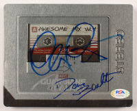 Chris Pratt, Vin Diesel, Dave Bautista Signed Guardians Of The Galaxy Blu Ray CD Cover (PSA LOA) at PristineAuction.com