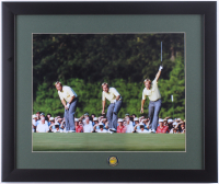 "Jack Nicklaus ""The Masters"" 16x19 Custom Framed Photo Display with Masters Ball Marker at PristineAuction.com"