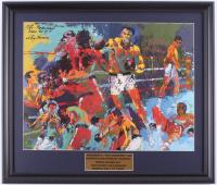 "LeRoy Neiman ""Muhammad 'The Greatest' Ali"" 18x21 Custom Framed Print Display at PristineAuction.com"