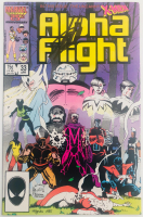 """Stan Lee Signed 1986 """"Alpha Flight"""" Issue #33 Marvel Comic Book (Lee COA) at PristineAuction.com"""