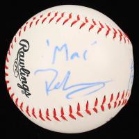 "Kaitlin Olson & Rob McElhenney Signed OL Baseball Inscribed ""Dee Reynolds"" & ""Mac"" (PSA COA) at PristineAuction.com"