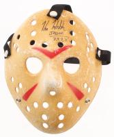 "Kane Hodder Signed ""Friday the 13th"" Mask Inscribed ""Jason 7, 8, 9, X"" (Legends COA) at PristineAuction.com"