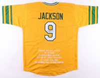Reggie Jackson Signed Career Highlight Stat Jersey (JSA COA) at PristineAuction.com