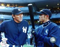 Ichiro Suzuki & Hideki Matsui Signed 8x10 Photo (JSA COA) at PristineAuction.com