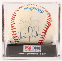 1987 Cardinals World Series Baseball Team-Signed by (24) with Terry Pendleton, Jack Clark, Willie McGee, Whitey Herzog, Red Schoendienst with Display Case (PSA LOA) at PristineAuction.com