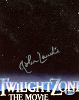 "John Landis Signed ""Twilight Zone"" 8x10 Photo (Beckett COA) at PristineAuction.com"