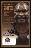 Emmitt Smith Signed LE Football Hall of Fame 3.5x5.5 Postcard (Beckett COA) at PristineAuction.com