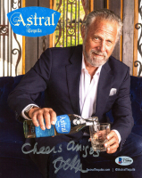 """Jonathan Goldsmith Signed 8x10 Photo Inscribed """"Cheers Amigos"""" (Beckett COA) at PristineAuction.com"""