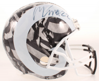 Marcus Peters Signed Rams Full-Size Hydro-Dipped Helmet (JSA COA) at PristineAuction.com