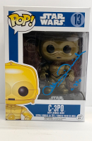 "Anthony Daniels Signed ""Star Wars"" C-3PO #13 Funko Pop! Vinyl Figure Inscribed ""C-3PO"" (Radtke COA) at PristineAuction.com"
