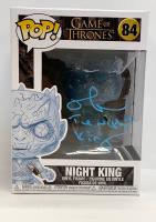 "Richard Brake Signed ""Game of Thrones"" Night King #84 Funko Pop! Vinyl Figure Inscribed ""The Night King"" (Radtke COA) at PristineAuction.com"