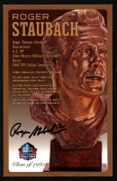 Roger Staubach Signed LE Football Hall of Fame 3.5x5.5 Postcard (Beckett COA) at PristineAuction.com