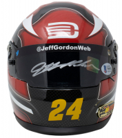 Jeff Gordon Signed NASCAR LE AARP/DTEH 1:3 Scale Mini-Helmet (Beckett COA & Gordon Hologram) at PristineAuction.com
