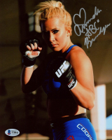 "Amanda Cooper Signed UFC 8x10 Photo Inscribed ""ABC"" (Beckett COA) at PristineAuction.com"
