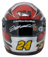 Jeff Gordon Signed LE NASCAR 3M Mini-Helmet (Beckett COA & Gordon Hologram) at PristineAuction.com