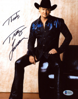 "Tracy Lawrence Signed 8x10 Photo Inscribed ""Thanks"" (Beckett COA) at PristineAuction.com"