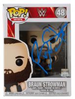 Braun Strowman Signed WWE #48 Funko Pop! Vinyl Figure (Beckett COA) at PristineAuction.com