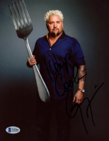 """Guy Fieri Signed 8x10 Photo Inscribed """"Keep Cookin"""" (Beckett COA) at PristineAuction.com"""