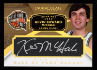 Kevin Mchale 2014-15 Immaculate Collection Hall of Fame Heroes Autographs #3 at PristineAuction.com