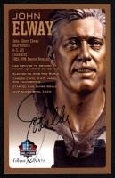 John Elway Signed LE Football Hall of Fame 3.5x5.5 Postcard (Beckett COA) at PristineAuction.com
