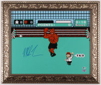 "Mike Tyson Signed ""Punch-Out!!"" 20.5x24.5 Custom Framed Print Display (Beckett COA & Fiterman Hologram) at PristineAuction.com"