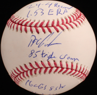 "Dwight ""Doc"" Gooden Signed OML Baseball with Multiple Inscriptions (JSA COA) at PristineAuction.com"