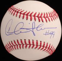 "Charlie Sheen Signed OML Baseball Inscribed ""#99"" (Beckett COA) at PristineAuction.com"