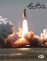 "Loren Shriver Signed 8x10 Photo Inscribed ""STS 51-C, 31, 46"" (Beckett COA) at PristineAuction.com"