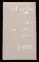 10 Gram Silver Valcambi Bullion Bar at PristineAuction.com