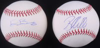 Lot of (2) Signed OML Baseballs with Brandon Webb & Dylan Bundy (SidsGraphs COA) at PristineAuction.com