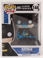 """Val Kilmer Signed """"DC Super Heroes"""" #144 Batman Funko Pop! Vinyl Figure Inscribed """"Batman"""" (AutographCOA Hologram) at PristineAuction.com"""