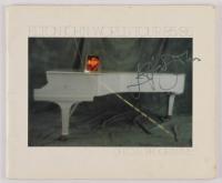 "Elton John Signed Official ""Elton John World Tour 85/86"" Program (REAL LOA) at PristineAuction.com"