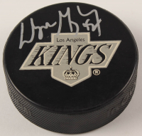 Wayne Gretzky Signed Rangers Logo Hockey Puck (UDA Hologram) at PristineAuction.com