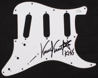 "Vinnie Vincent Signed Pickguard Inscribed ""Kiss"" (AutographCOA Hologram) at PristineAuction.com"