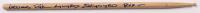 "Artimus Pyle Signed Drum Stick Inscribed ""Lynyrd Skynyrd"" & ""RVZ"" (AutographCOA Hologram) at PristineAuction.com"