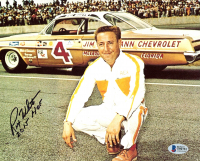 "Rex White Signed NASCAR 8x10 Photo Inscribed ""2015 HOF"" (Beckett COA) at PristineAuction.com"