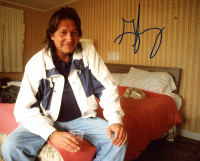 George Jung Signed 8x10 Photo (ACOA Hologram) at PristineAuction.com